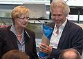 Bettina Schmidt-Czaia, Frank Schätzing, 11. Nationaler Aktionstag für die Erhaltung schriftlichen Kulturguts, Köln 2015 -9282.jpg