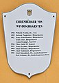 Bezirksgericht Windischgarsten, commemorative plaque 6 - honorary citizens 2.jpg