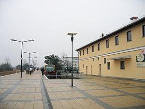 Strausberg Nord station - Station building