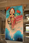 Bharat Mata picture in the temple