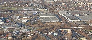 Komorowice, Bielsko-Biała - FIAT manufacture in Komorowice