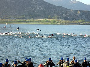 Triathlon am Lake Perris, 2009