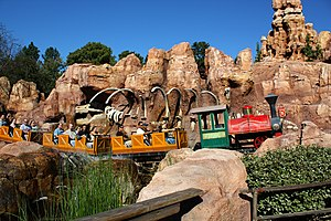 Big Thunder Mountain Railroad - Big Thunder Mountain Railroad at Disneyland
