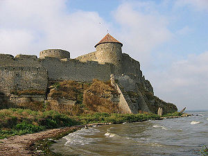Battle of Vaslui - The fortress of Akkerman (Cetatea Albă).