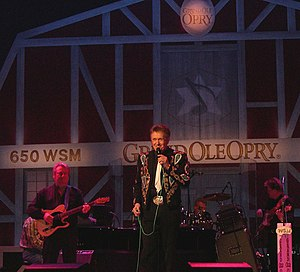 Bill Anderson (singer) - Anderson performing at the Grand Ole Opry November 26, 2006