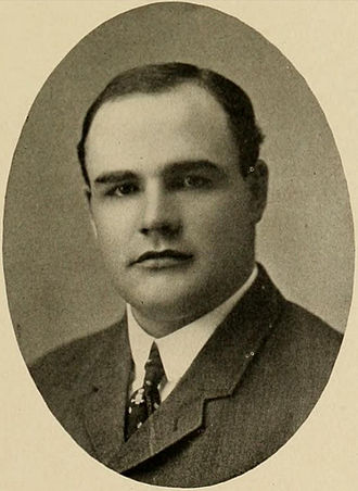 Bill Warner (American football) - Warner pictured in Yackety Yak 1906, UNC yearbook