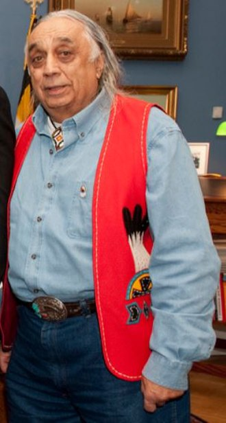Piscataway Indian Nation and Tayac Territory - Image: Billy Tayac Tribal Leader Of Piscataway Indian Nation And Tayac Territory Flickr Cropped
