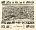 Bird's-eye-view of New Milford, Connecticut, 1906. LOC 75693155.tif