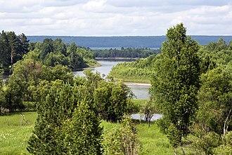 Biryusa River - Image: Birjusa