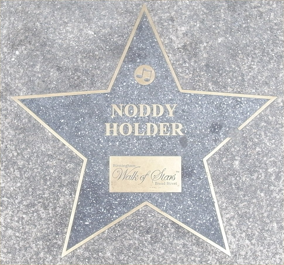 Birmingham Walk of Stars Noddy Holder