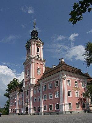 Überlingen - Cloister church Birnau