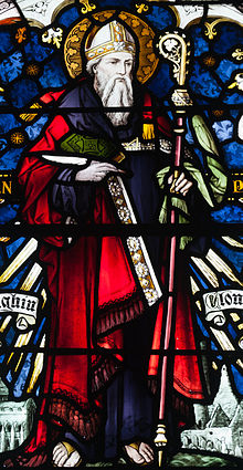 Birr St. Brendan's Church Saint Kieran Window Detail 2010 09 10.jpg