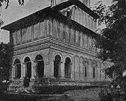 Biserica din Balaci în Anuarul Com. Mon. Ist. 1914.jpg