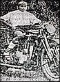 Bishnu Charan Ghosh, atop motorcycle, 1919.jpg