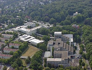Federal Criminal Police Office (Germany) - BKA headquarters in Wiesbaden