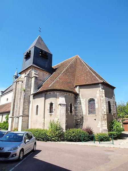 Église Saint-Loup-de-Troyes de Bléneau (Yonne, France)