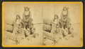 Black Horse, wife and child in native costume, confined in Fort Marion, St. Augustine, Florida, from Robert N. Dennis collection of stereoscopic views.png