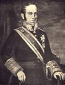 Black and white portrait of Joaquín Blake y Joyes