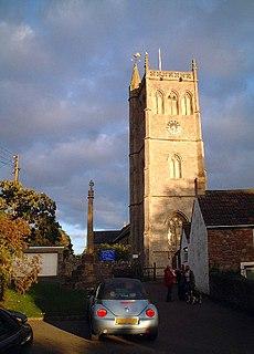 Bleadon village in the United Kingdom
