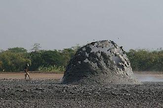 Grobogan Regency - Bledug Kuwu mud volcano, Central Java, Indonesia.