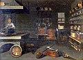 Blick in herrschaftliche Küche um 1700.jpg