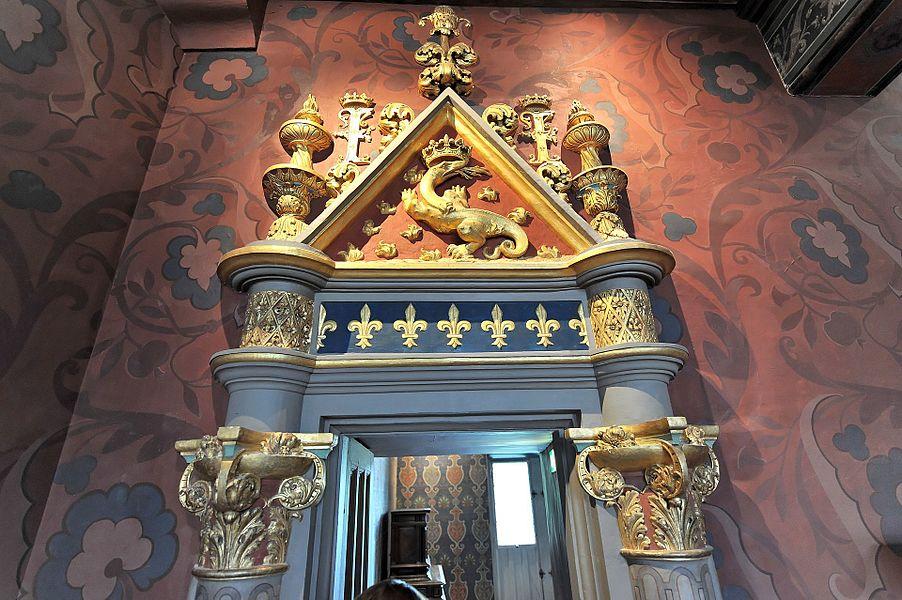 Schloss Blois - Innenansicht
