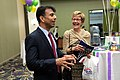 Bobby Jindal with supporter (17208600504).jpg
