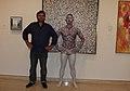 Bodypainting Sydney Art Gallery NSW , Greg Tingle, Rhys Bobridge (10473229353).jpg