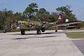 Boeing B-17G-85-DL Flying Fortress Nine-O-Nine Landing Taxi 45 CFatKAM 09Feb2011 (14983919125).jpg