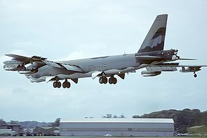 19th Airlift Wing - Wing Boeing B-52G at RAF Fairford