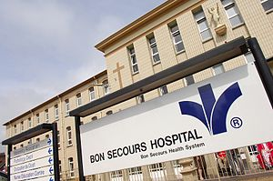 Bon Secours Hospital, Cork - Facade of Bon Secours Cork