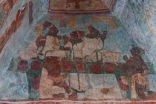 Murales De Bonampak Wikipedia La Enciclopedia Libre