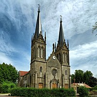 Bonnevent-Velloreille, l'église de la Sainte-Trinité.jpg