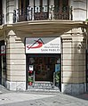 Bookstore with two signs in Bilbao.jpg