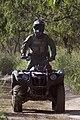 Border Patrol Agent Patrols South Texas Border on an All Terrain Vehicle (ATV) (11934257755).jpg