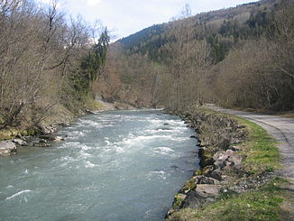 On the upper reaches of the Isère