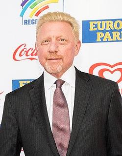 Boris Becker German tennis player