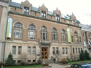 Boston Conservatory - 8 Fenway, the Conservatory's main building.