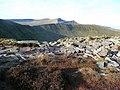 Boulder on the crest of Craig Cwareli - geograph.org.uk - 1114328.jpg