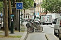 Boulevard Richard-Lenoir (Paris), piste cyclable 02.jpg