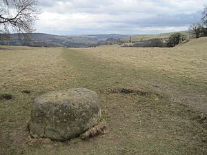 Eyam - The Boundary Stone