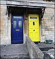 Box, Wiltshire ... blue-yellow doors. - Flickr - BazzaDaRambler.jpg