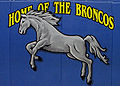 Boxwood PS Bronco painting at the gym.jpg