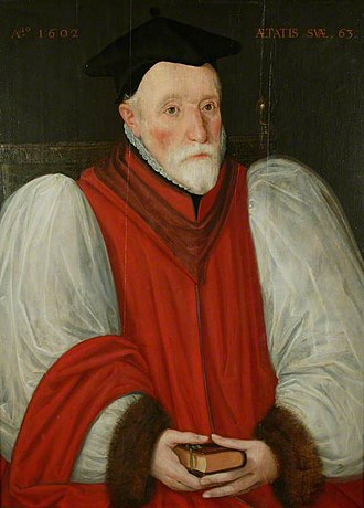 Bishop of Chester - Image: Bp William Chaderton
