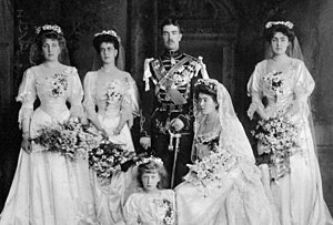 Princess Margaret of Connaught - Wedding of Princess Margaret and Prince Gustaf Adolf in 1905.