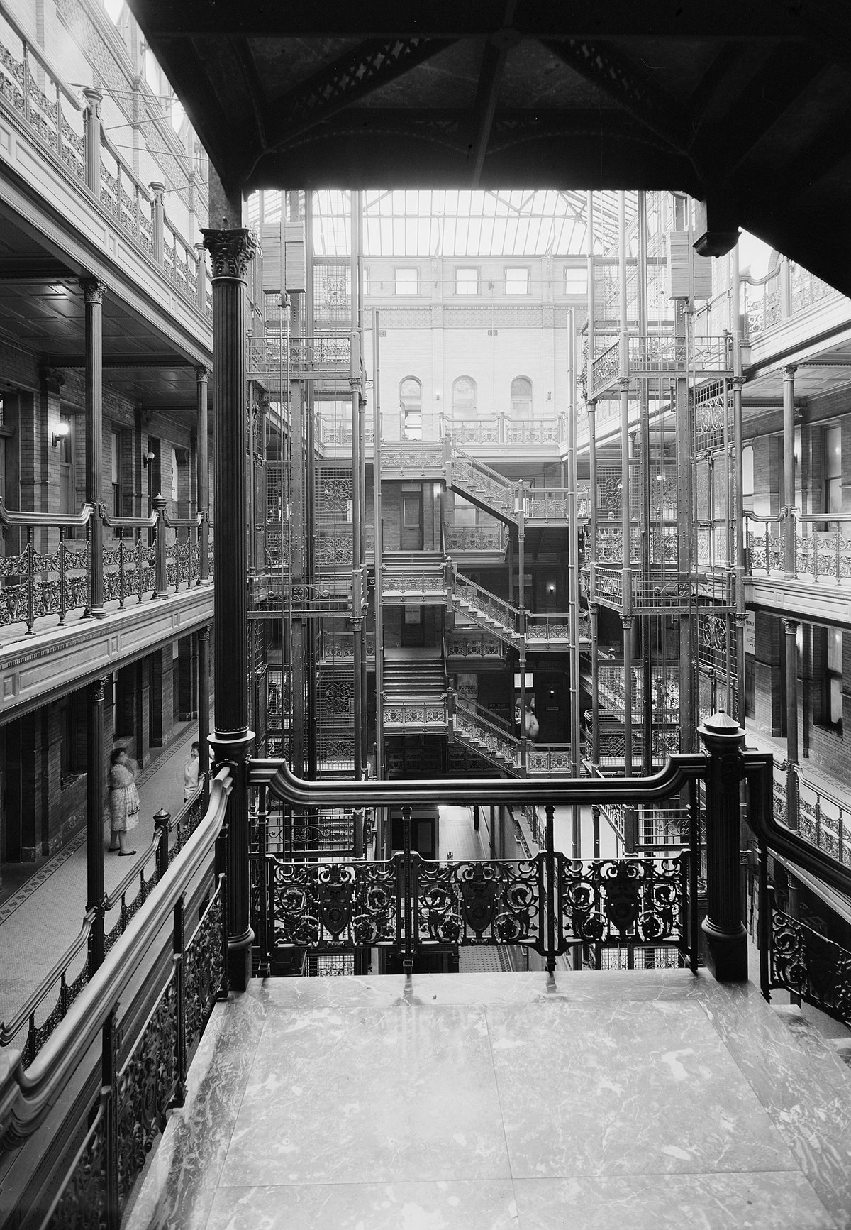 Bradbury Building Wikimedia Commons