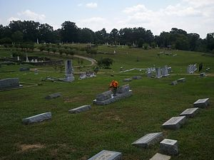National Register of Historic Places listings in Rankin County, Mississippi - Image: Brandon Cemetery