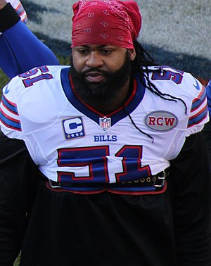 Brandon Spikes - Spikes with the Buffalo Bills in 2014