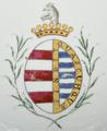 Brasão de armas de D. Bernardo José Maria da Silveira e Lorena - Companhia das Índias, Reinado Jiaqing (1796-1820).png