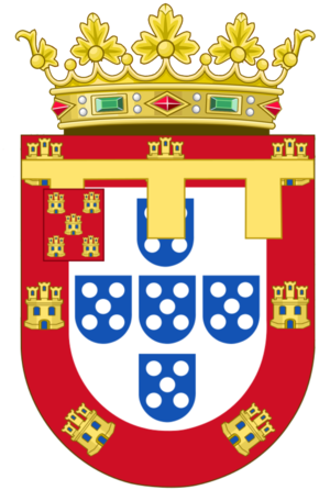 Duke of Porto - Arms of the Princes of Beira